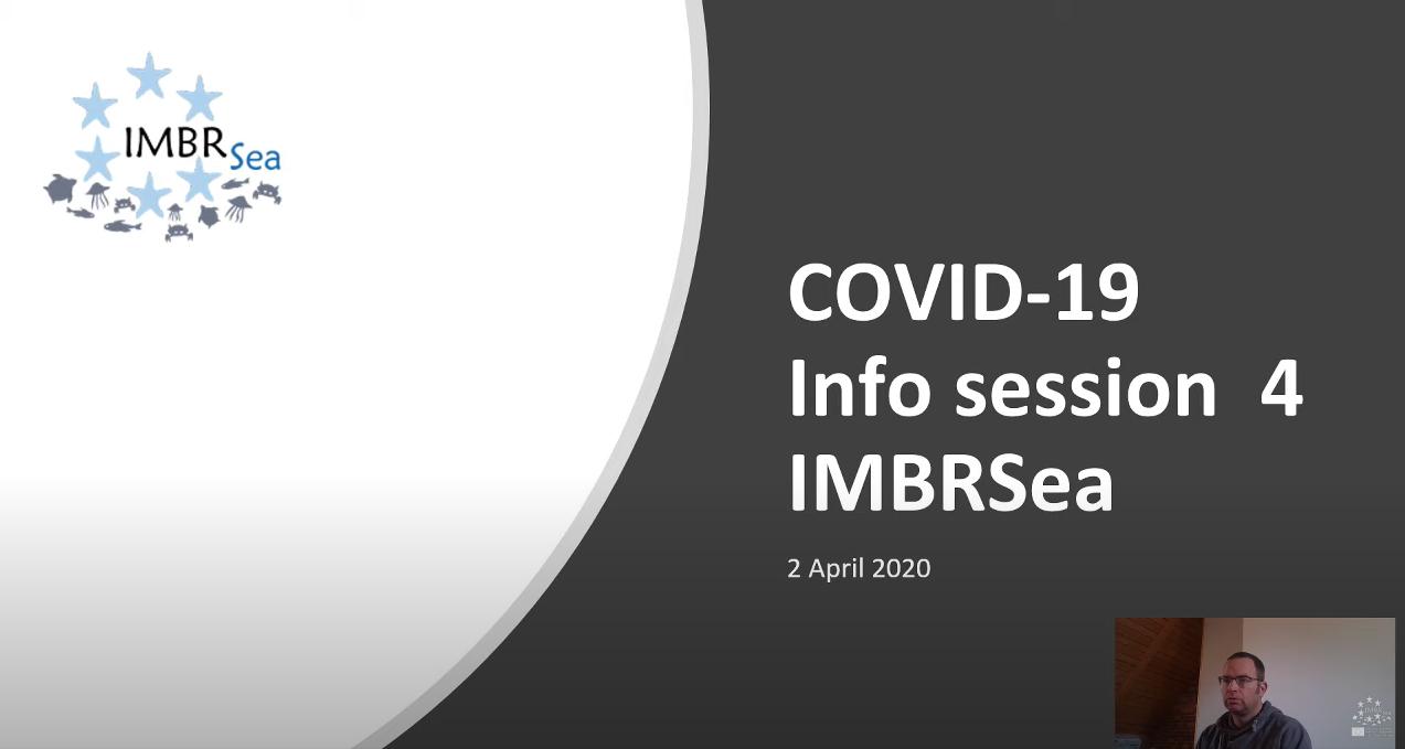 IMBRSea COVID19 - Webinar 4